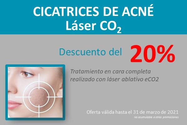 promoción eliminación cicatrices del acné