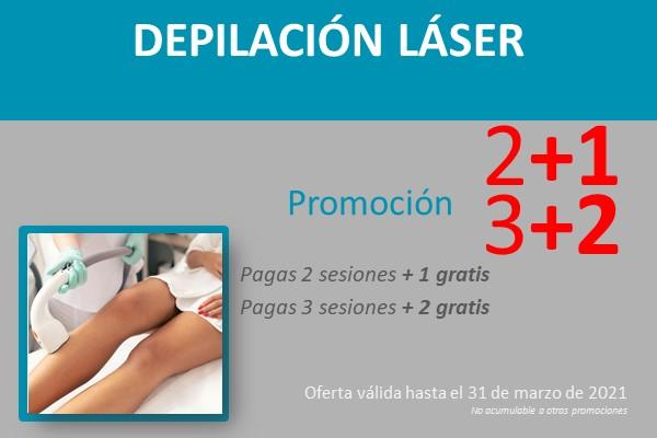 promoción depilación láser