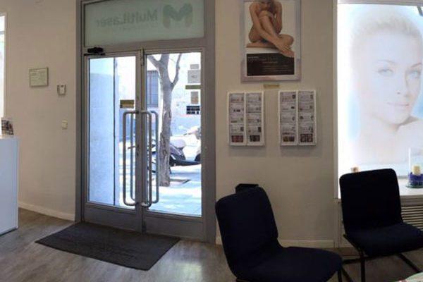 clínica consultorio multilaser