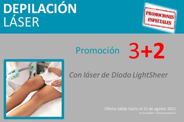promo depilación láser