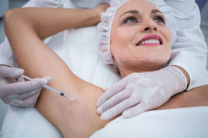 tratamiento hiperhidrosis con Bótox